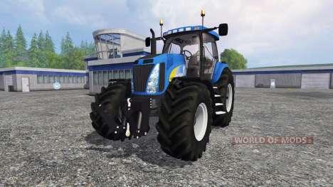 New Holland T8.020 v3.0 для Farming Simulator 2015
