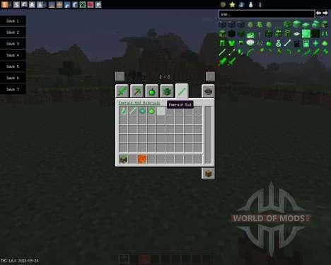 Emerald [1.6.4] для Minecraft