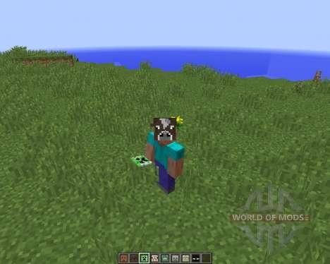 Masks Mod by Hamster_Furtif [1.8] для Minecraft