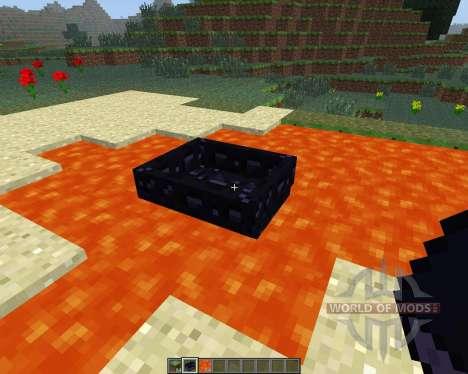 Obsidian Boat [1.6.4] для Minecraft
