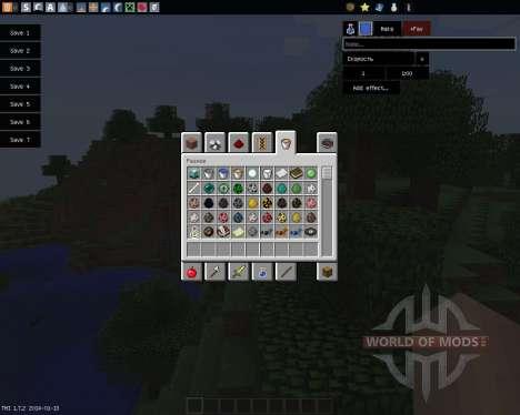 TooManyItems [1.7.2] для Minecraft