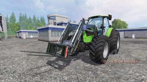 Deutz-Fahr Agrotron 7250 Forest King v2.0 green для Farming Simulator 2015