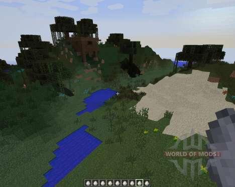 No Cubes [1.7.2] для Minecraft