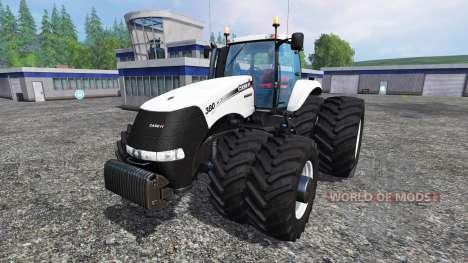 Case IH Magnum CVX 320 Dynamic8 white для Farming Simulator 2015
