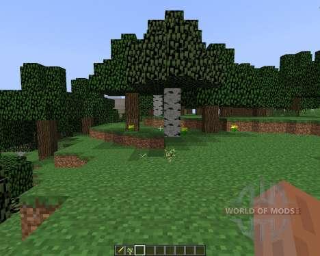 Fast Leave Decay [1.8] для Minecraft