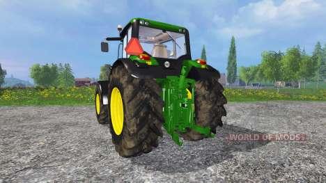 John Deere 6170M FL для Farming Simulator 2015