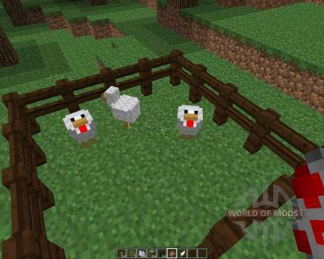 ChickenShed [1.8] для Minecraft