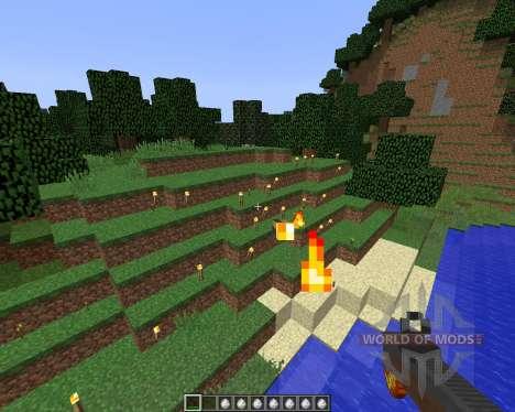 Torched [1.8] для Minecraft