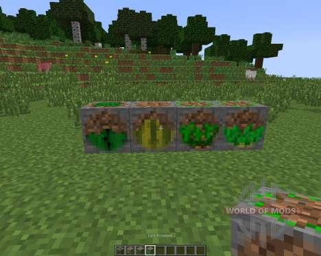 Underground Vegetation [1.7.10] для Minecraft