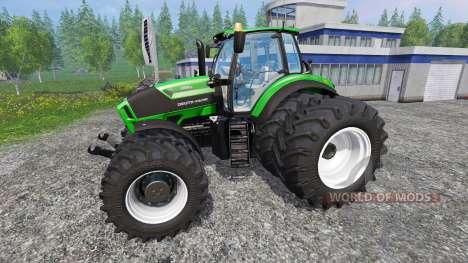 Deutz-Fahr Agrotron 7250 texture fix для Farming Simulator 2015