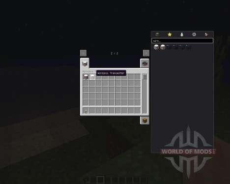 Wireless Redstone [1.8] для Minecraft