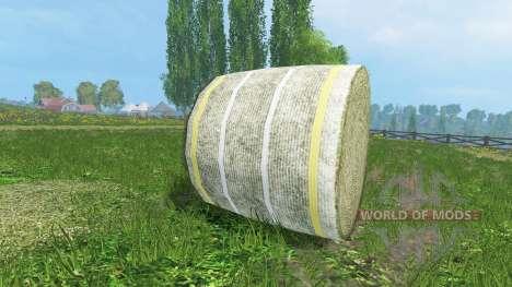 Новые текстуры тюков сена для Farming Simulator 2015