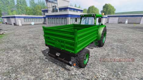Buhrer 6135M Final для Farming Simulator 2015