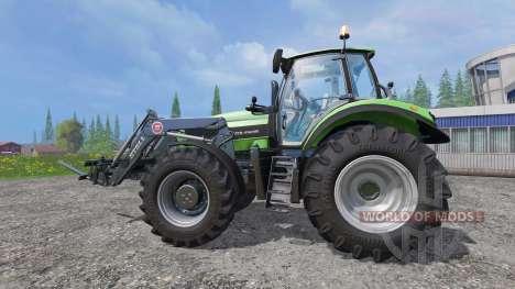 Deutz-Fahr Agrotron 7250 TTV v2.0 frontloader для Farming Simulator 2015