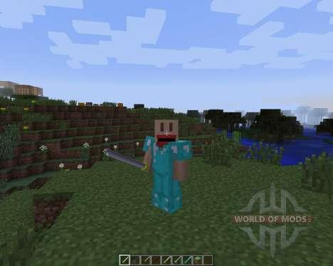 Anime Battle [1.7.2] для Minecraft