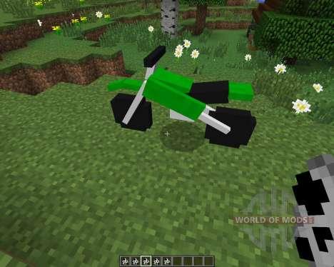 The Dirtbike [1.7.2] для Minecraft
