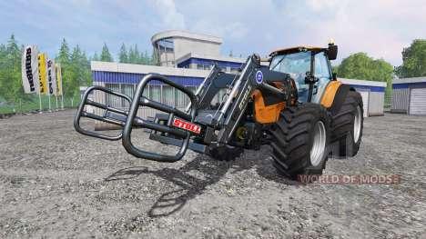 Deutz-Fahr Agrotron 7250 Forest King v2.0 orange для Farming Simulator 2015