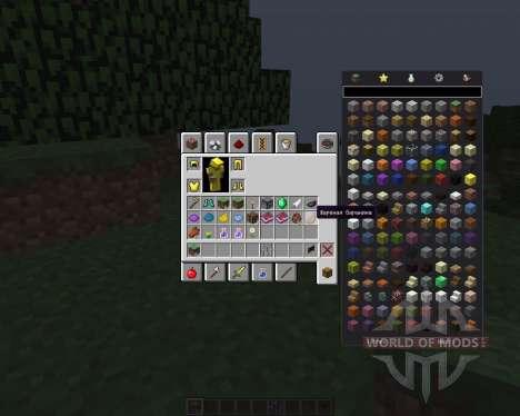 Inventory Tweaks [1.8] для Minecraft