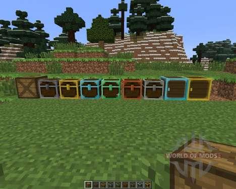 Better Storage [1.6.4] для Minecraft