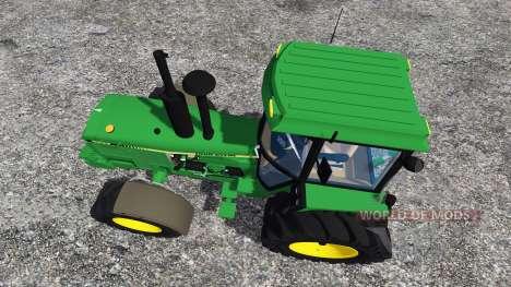 John Deere 4850 v2.0 для Farming Simulator 2015