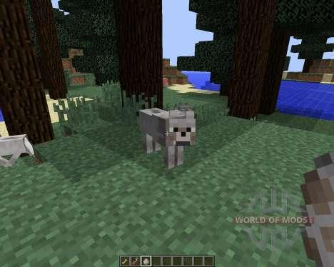 Sophisticated Wolves [1.8] для Minecraft