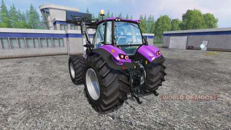 Deutz-Fahr Agrotron 7250 Forest Queen v2.0 purpl для Farming Simulator 2015