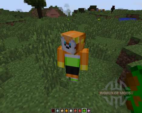 Sonic The Hedgehog [1.7.2] для Minecraft