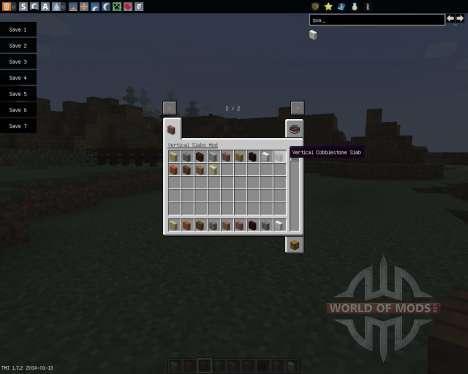 Vertical Slabs [1.7.2] для Minecraft