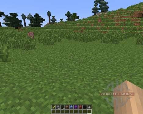 Dual Hotbars [1.6.4] для Minecraft