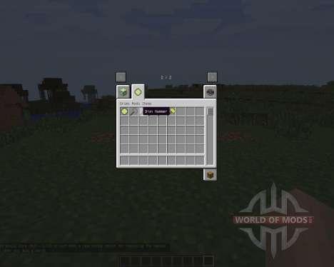 Hammers [1.7.2] для Minecraft