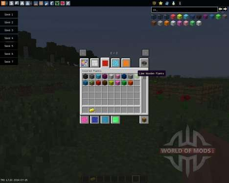 Colored Blocks [1.7.10] для Minecraft