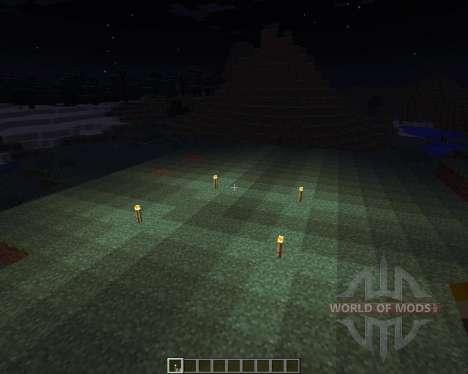 Dynamic Lights [1.6.4] для Minecraft