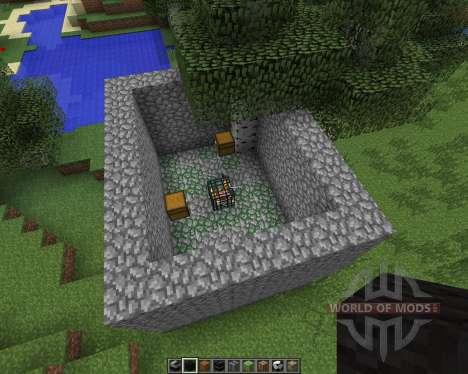 Instant Massive Structures [1.7.2] для Minecraft