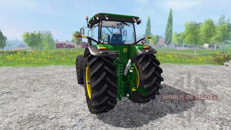 John Deere 7200R new version для Farming Simulator 2015