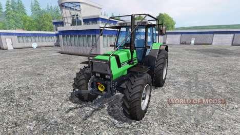 Deutz-Fahr AgroStar 6.61 Forestry для Farming Simulator 2015