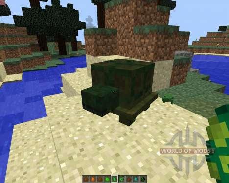 Reptile [1.8] для Minecraft