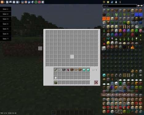 Multi Page Chest [1.7.2] для Minecraft