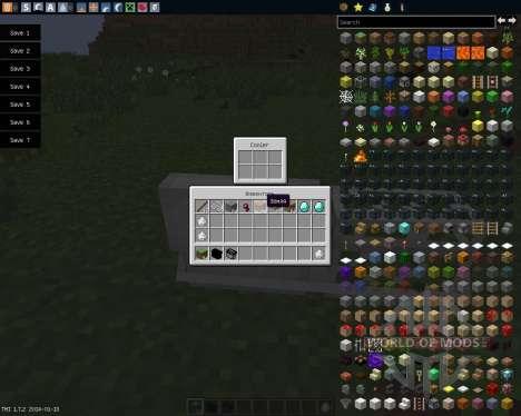 Coolers [1.7.2] для Minecraft