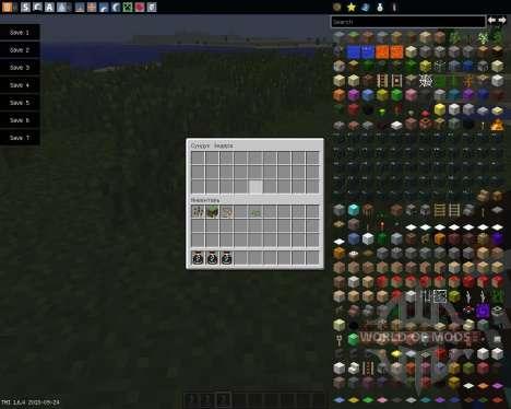 Simple Ender Pouch [1.6.4] для Minecraft