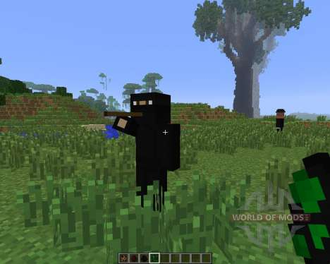 Secret Agent Craft [1.6.4] для Minecraft