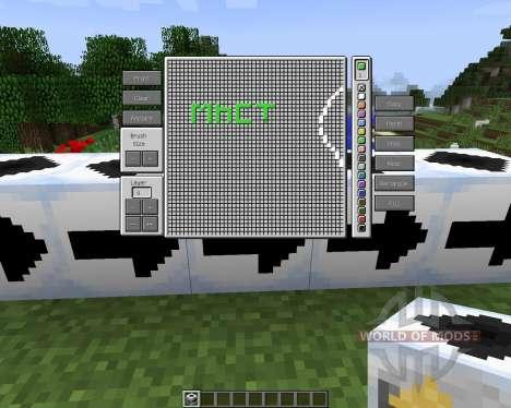 Printer Block [1.7.2] для Minecraft