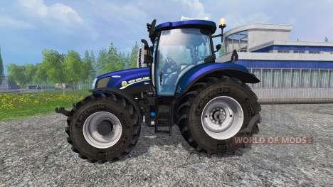 New Holland T6.160 v1.2 для Farming Simulator 2015