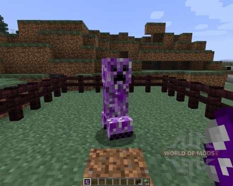 Inverse Creepers [1.7.2] для Minecraft