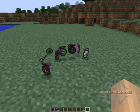 Extradimensional Item Storage [1.7.2] для Minecraft