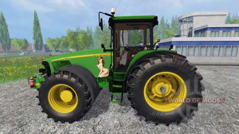 John Deere 8520 v3.1 для Farming Simulator 2015