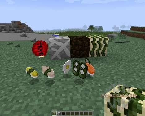 Sushi Craft [1.7.2] для Minecraft