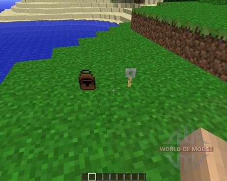 Parachute [1.5.2] для Minecraft