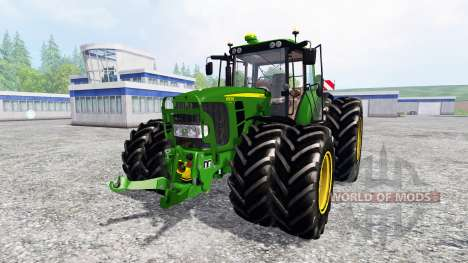 John Deere 6930 Premium [washable] для Farming Simulator 2015