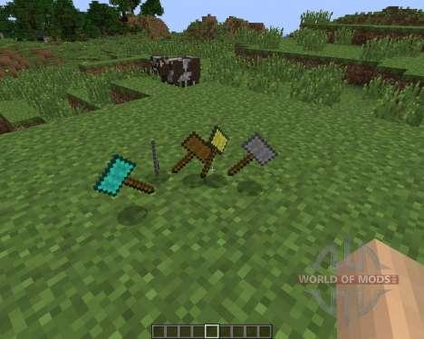 Hammers [1.6.2] для Minecraft
