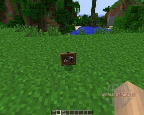 Super Crafting Frame [1.7.2] для Minecraft